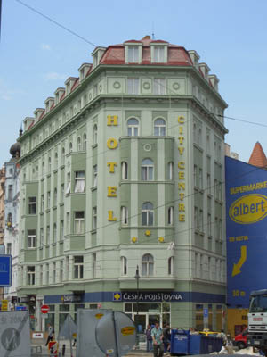 City center hotel prague for Hotels in prague city centre